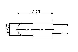 T-1 3/4Bi-PIN 6050