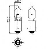 T-2 1/2 BA9s/13