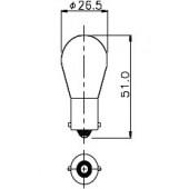 Miniature Aircraft Lamp 1665IF