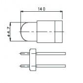 T-13/4 BPR Lamp 6034