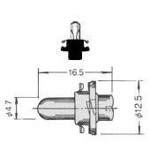 T-11/2PBC PCB Lamp Bayonet 5033