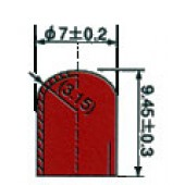 Silicone Rubber Boot C65094