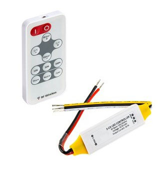 R05 2CH dual-colour tunable-white inline dimmer with remote handset